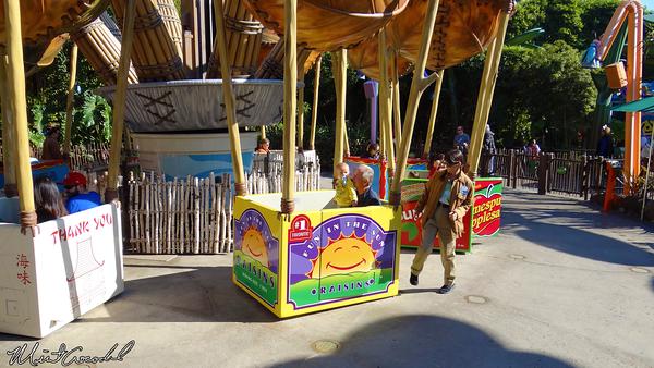 Disneyland Resort, Disney California Adventure, a bug's land, Flik's Flyers