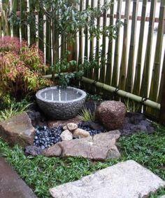small space Japanese garden   garden ideas 1   Pinterest