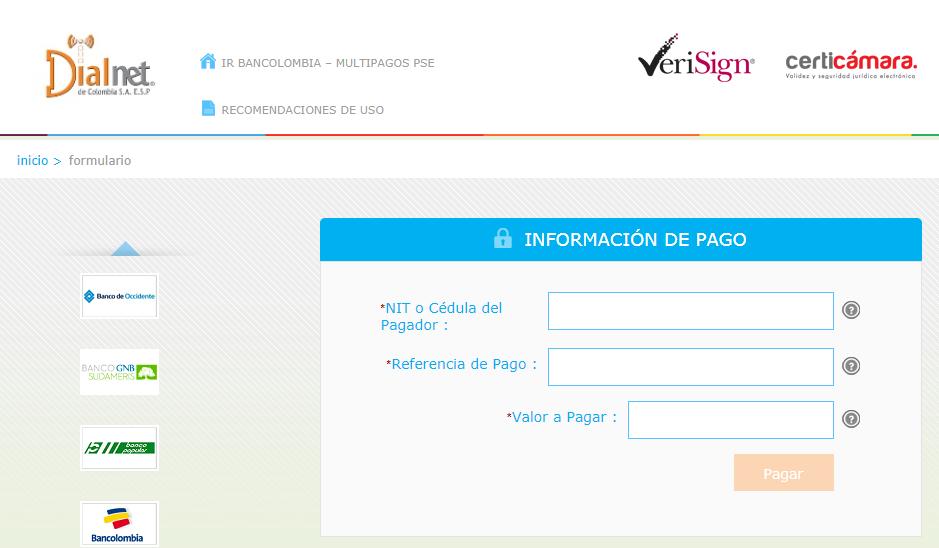 Consultar, Descargar, Imprimir, Pagar, Duplicado Factura Dialnet por Internet en Linea PSE 2021