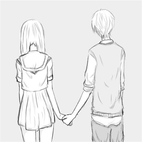 pics  cute anime love couples easy  draw  board