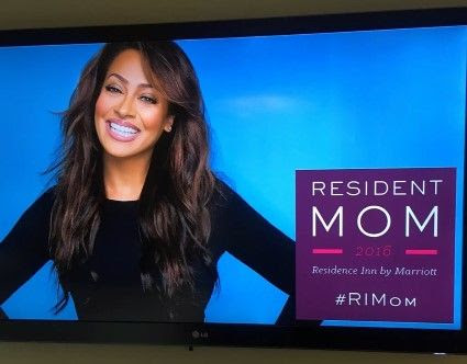 La La Anthony Interview as Residence Inn by Marriott Resident Mom 2016