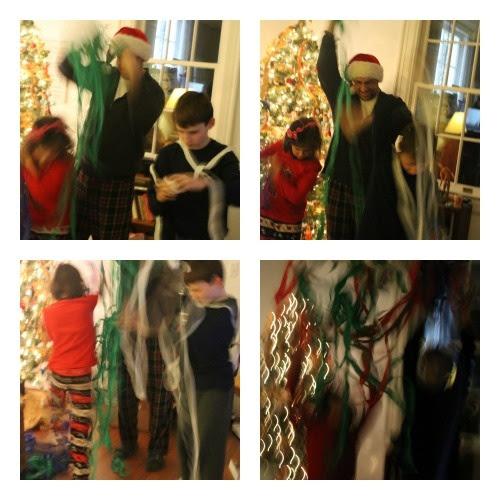 Christmas Ball Collage