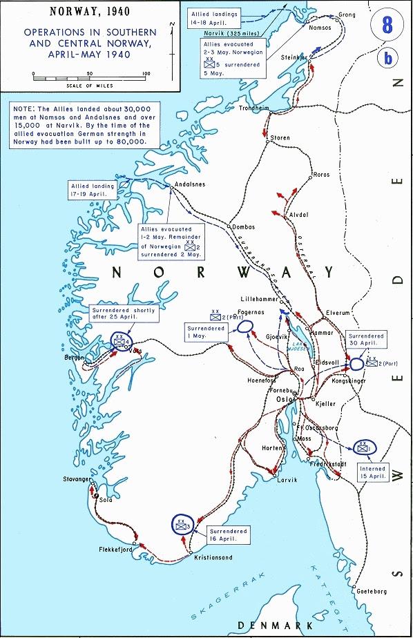 Norwegian Ground Campaign 1940