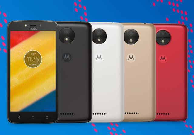 Moto C in colors
