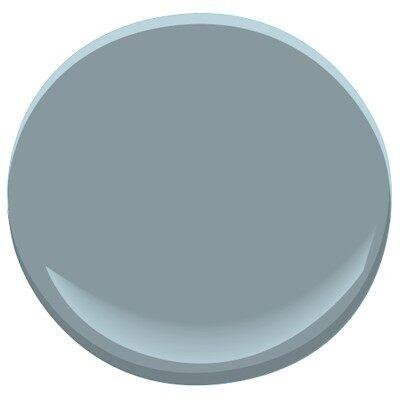 van courtland blue HC-145 Paint - Benjamin Moore van ...