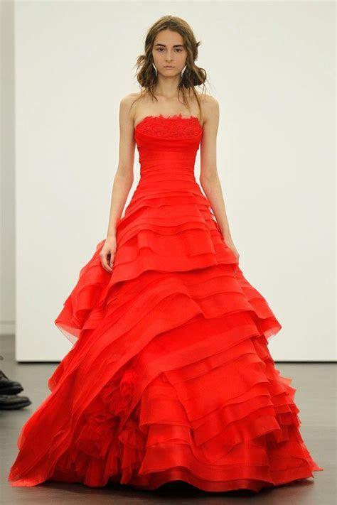 Spring 2012 wedding dresses Vera Wang bridal gown non