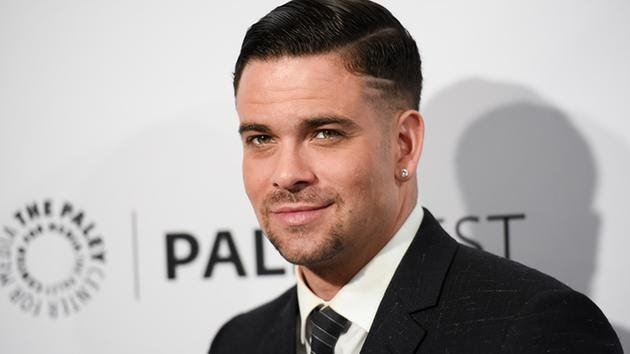 Mark Salling arrives at the 32nd Annual Paleyfest : Glee held at The Dolby Theatre on Friday, March 13, 2015, in Los Angeles.