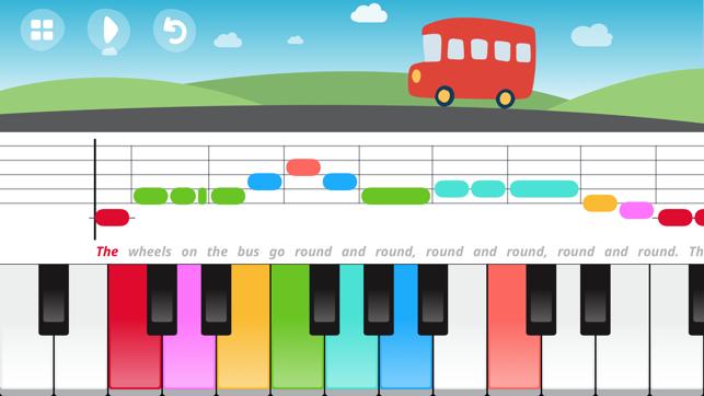 Partituras De Piano Para Ninos Con Colores Hay Ninos
