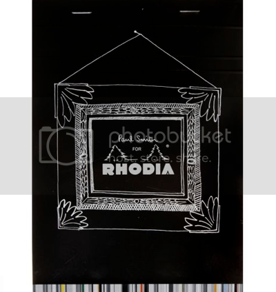 Limited Edition Paul Smith 'o9 Rhodia Pads 1