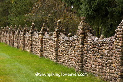 Cobblestone Fence, Portage County, Wisconsin