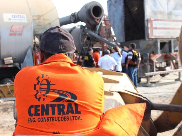 As duas usinas de asfalto Central Engenharia  já tinham sido interditadas, por falta de segurança (Foto: Divulgação / MPT)
