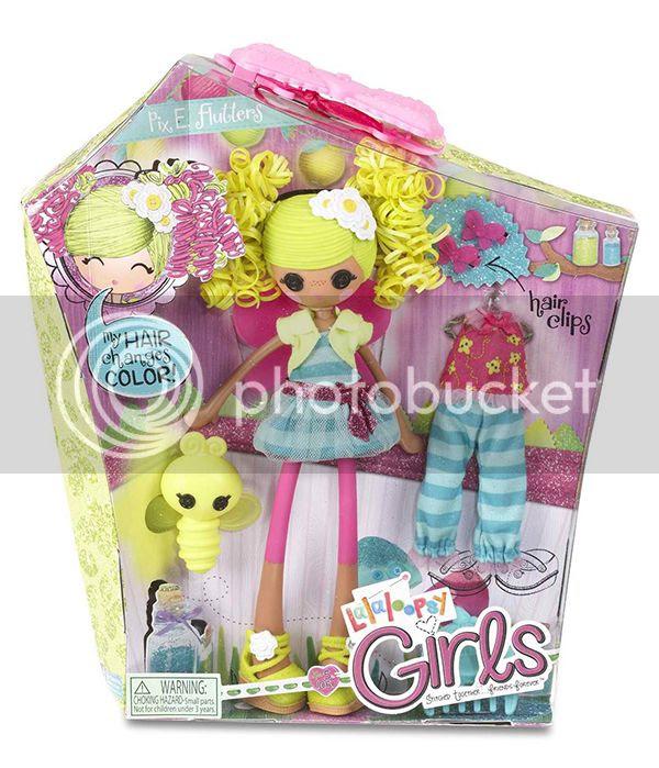 Lalaloopsy Girl's Pix E. Flutters Doll