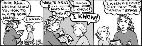 Home Spun comic strip #560