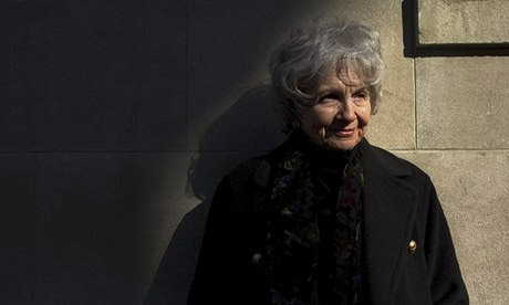 Alice Munro, winner of the 2013 Nobel prize in literature