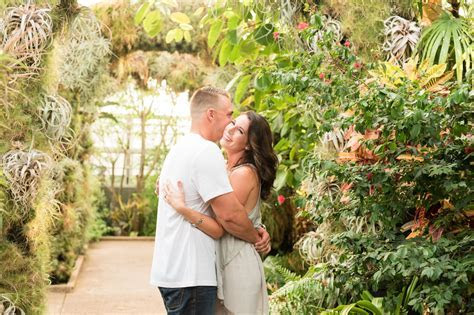 Daniel Stowe Botanical Gardens Engagement Session