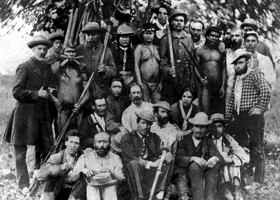 Una expedición del coronel La Torre, en 1878.