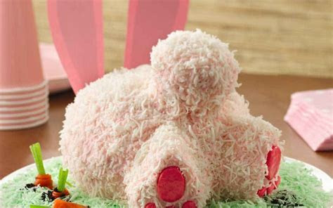 Bake The Perfect Bunny Butt Cake For Easter Like A Pro