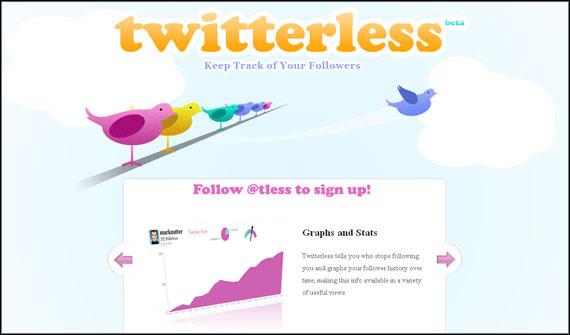 twitterless