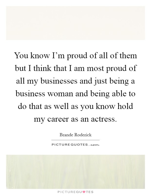 Brande Roderick Quotes Sayings 9 Quotations