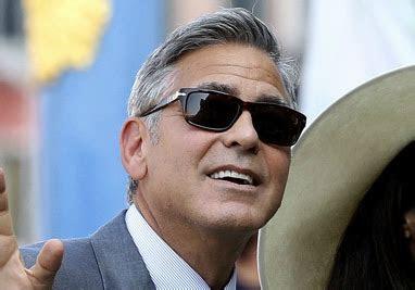 sunglasses  george clooney wearing   wedding