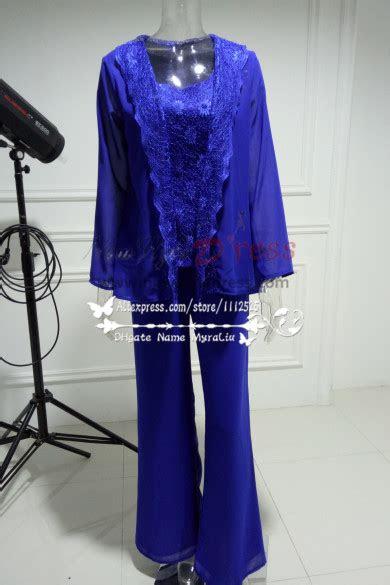 fashion royal blue lace sequins vest mother