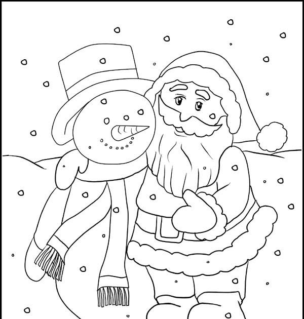 weihnachtsmann malvorlagen kostenlos  ausmalbilder