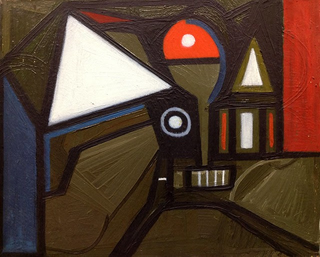 abstract painting by Avto Meskhi