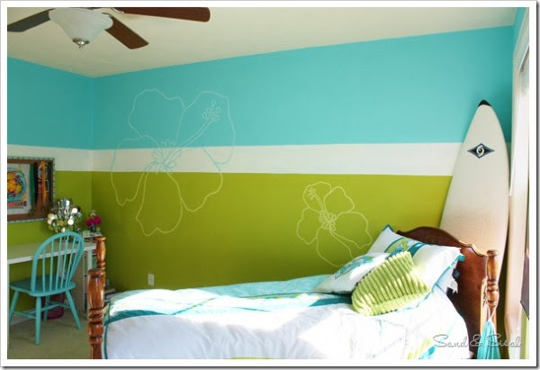 Roxy Girl Teen Bedroom