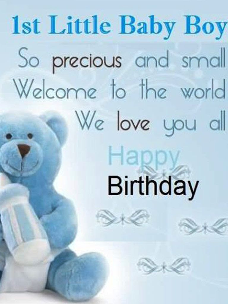 24 Amazing Baby Boy Birthday Wishes With Lovely Images Wish Me On