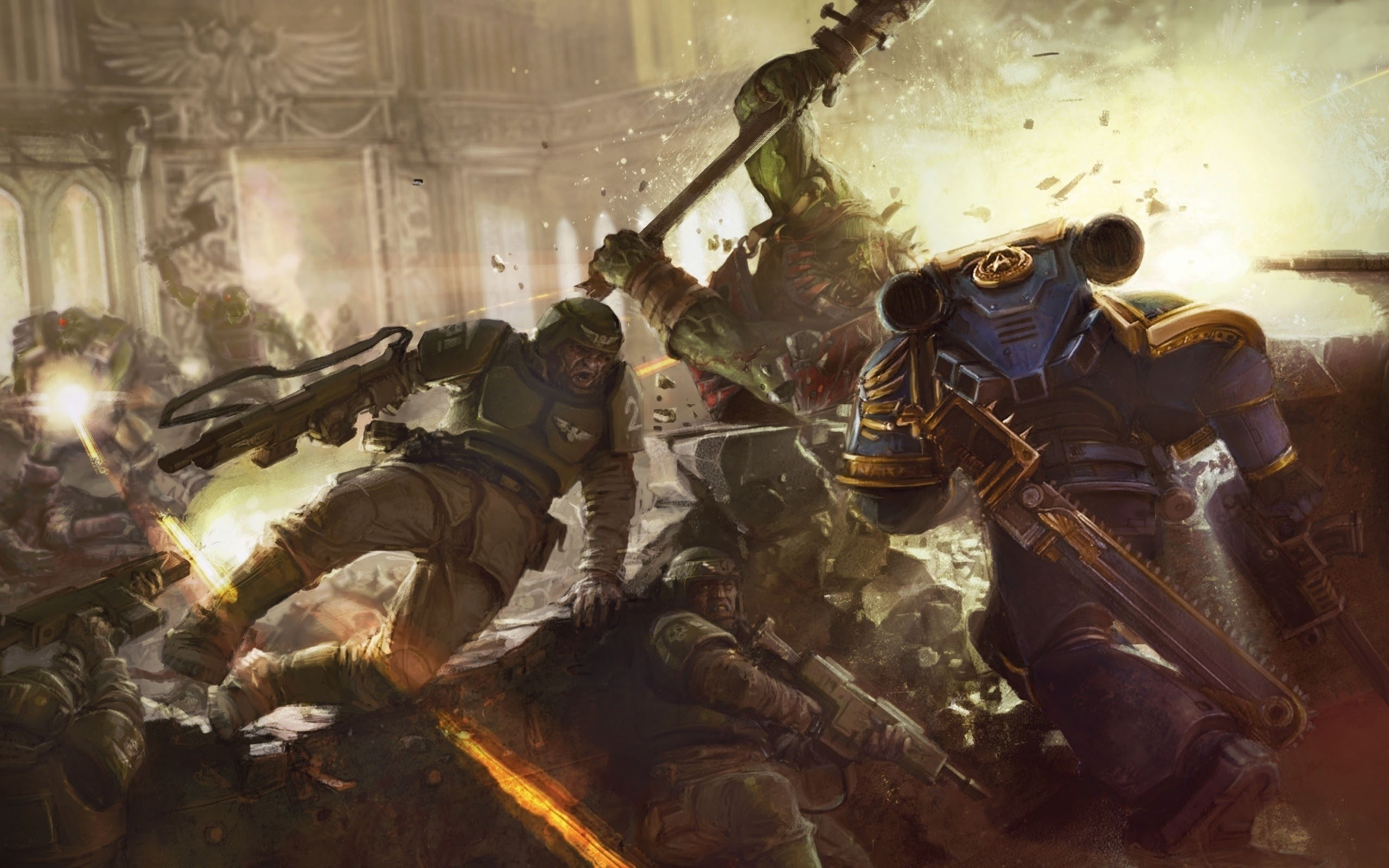 Warhammer 40k Imperial Guard Wallpaper 64 Images