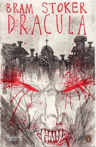 Dracula-Draw your own cover