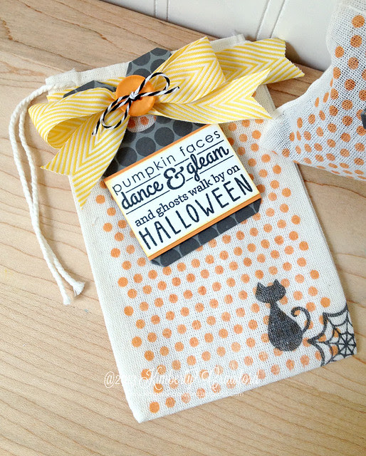 Halloween Treat Bags cu 1 Reverse Confetti by Kimberly Crawford