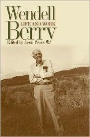 Wendell Berry by Jason Peters: Book Cover