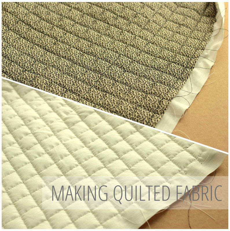 A Common Thread — Sewing Tutorial: How To Make Quilted Fabric