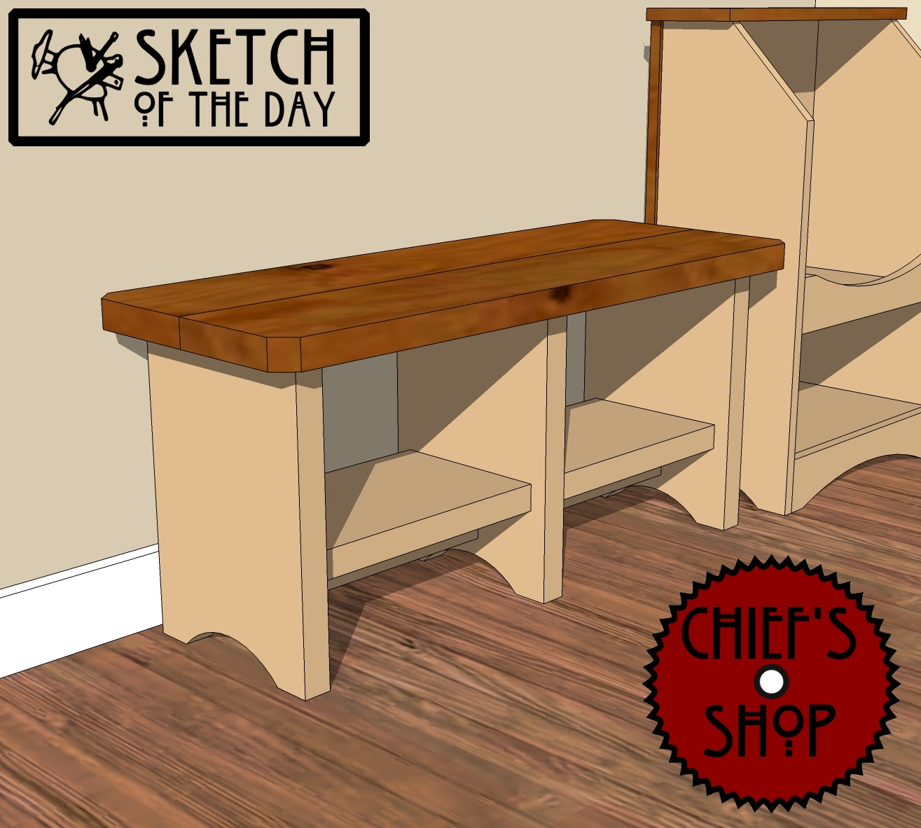 storage bench | Chief's Shop