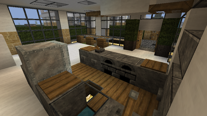 Modern Minecraft House Interior