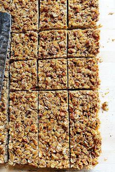 Homemade Granola Bars. Crunchy, so flavorful...and addictive.