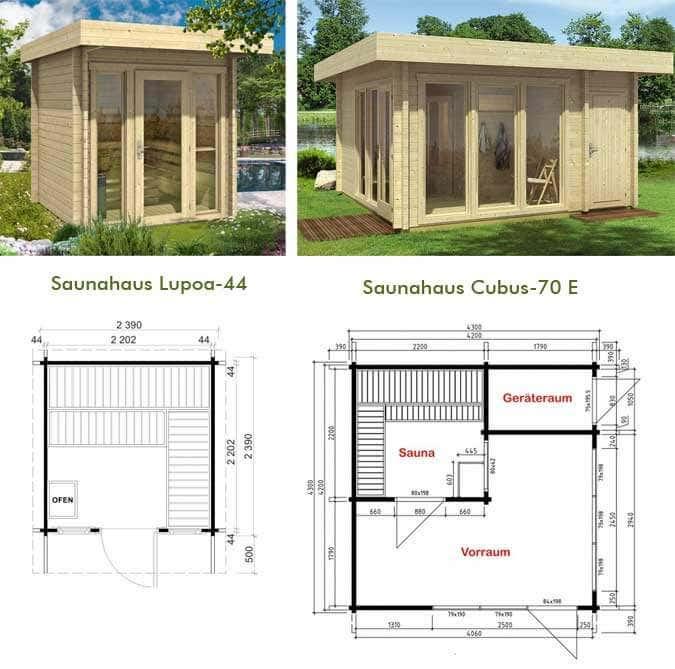 sauna bausatz f r drau en. Black Bedroom Furniture Sets. Home Design Ideas
