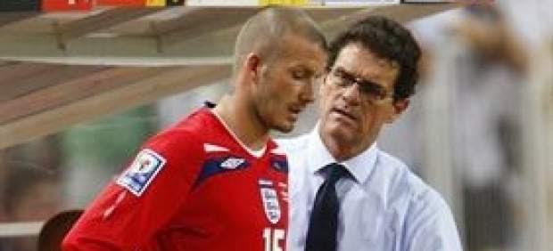 """Beckham: """"Un inglés debe dirigir la selección después de Capello"""""""