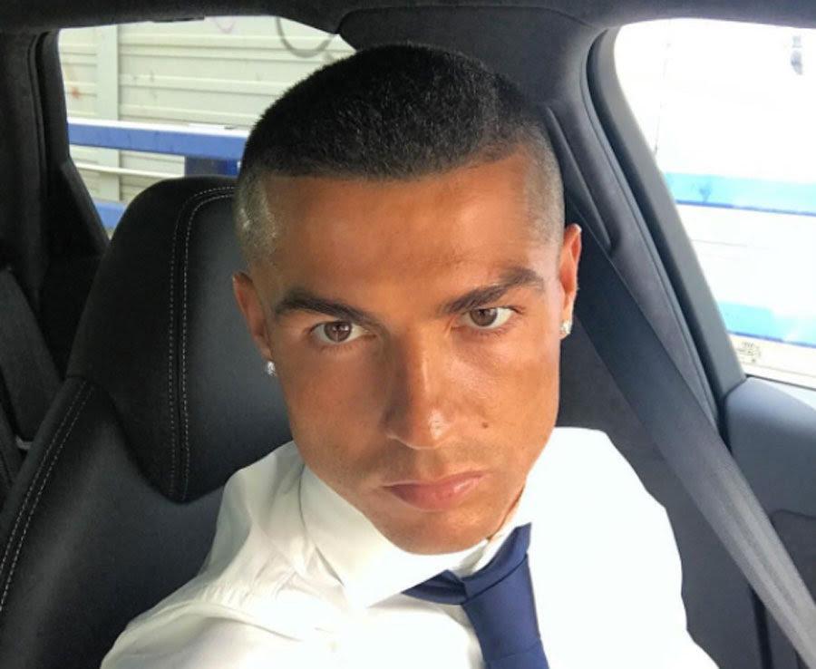 Cristiano Ronaldo haircut: Real Madrid star's striking new ... - 900 x 738 jpeg 81kB