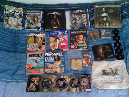 LaraCroftCollector's collection - click for larger image
