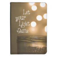 Inspirational Bible Verse Let your light shine Kindle 4 Cover