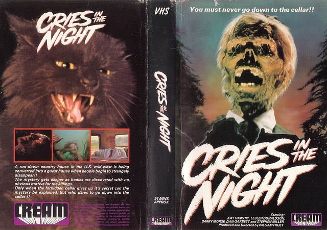 CRIES IN THE NIGHT (VHS Box Art)
