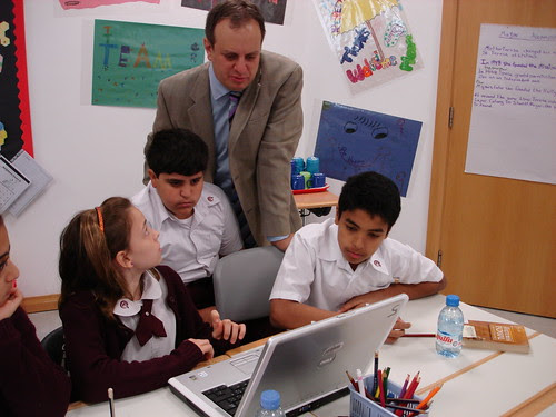 Gary Stager at Qatar Academy