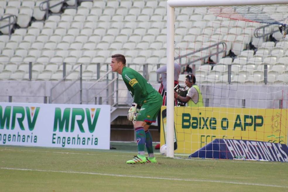 Marcelo Boeck avalia que o jogo contra o ASA será de fundamental importância para que o time engrene de vez (Foto: Divulgação/Fortaleza)