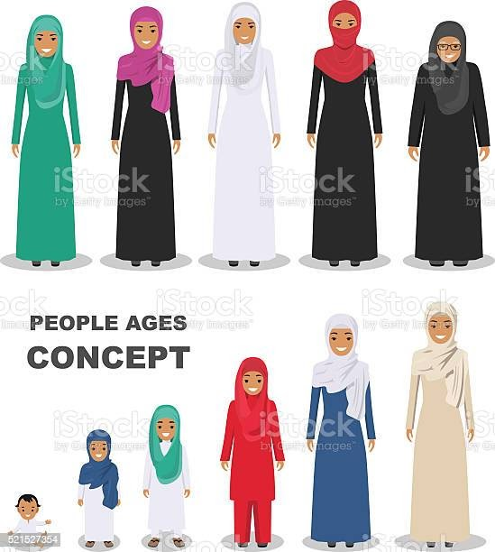 17 gambar kartun muslimah bercadar cantik sedih keren