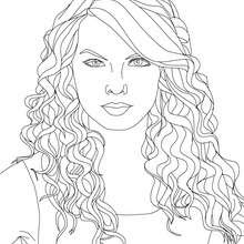 taylor swift cat's eyes coloring pages  hellokids