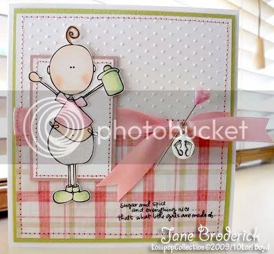 Lollipop-BabyKate-Sample Card