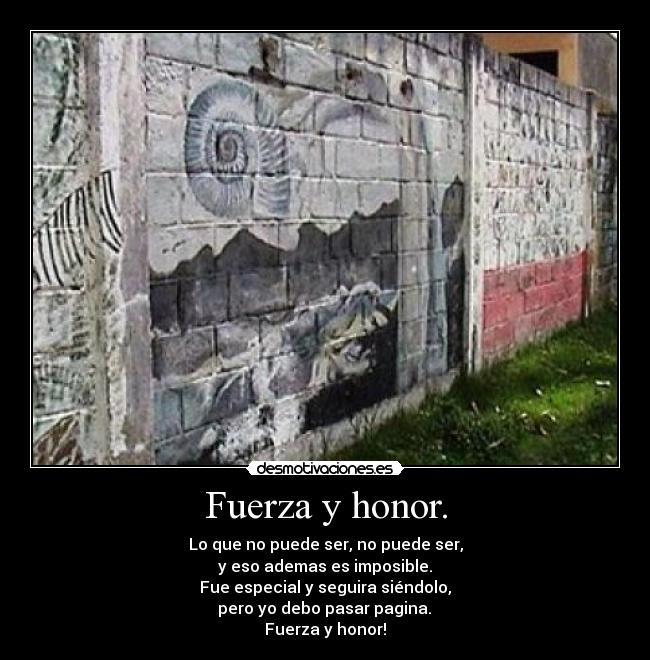 Fuerza Y Honor Desmotivaciones