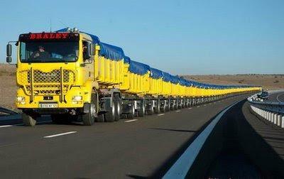 longest truck in the world